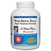 Hair, Skin & Nails Super Nutrient, 120 Veggie Caps, Natural Factors