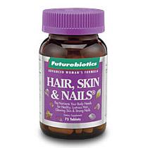 Hair, Skin, Nails for Women 75 tabs, Futurebiotics