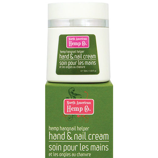 Hemp Hangnail Helper Hand & Nail Cream, 1.69 oz, North American Hemp Company
