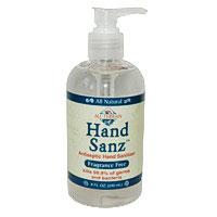 Hand Sanz, Antiseptic Hand Sanitizer, Fragrance Free, 8 oz, All Terrain