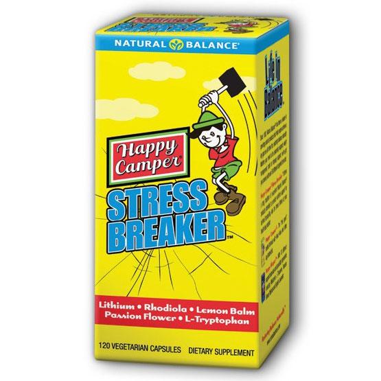 Happy Camper Stress Breaker, 120 Vegetarian Capsules, Natural Balance