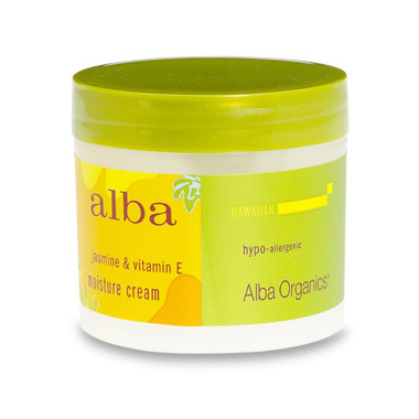 Hawaiian Jasmine & Vitamin E Moisture Cream 3 oz from Alba Botanica