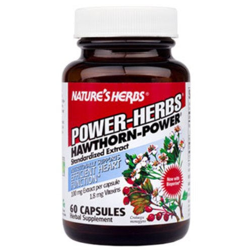 Hawthorn Power 60 caps from Natures Herbs