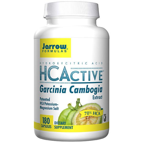 HCActive Garcinia Cambogia Extract, 180 Vegetarian Capsules, Jarrow Formulas