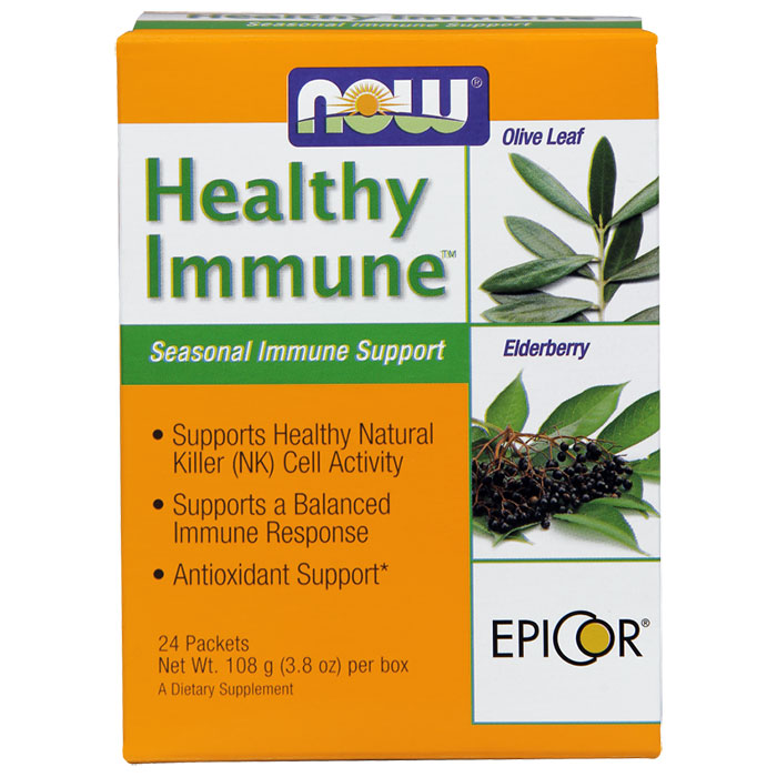 Healthy Immune, Seasonal Immune Support, 24 Packets, NOW Foods