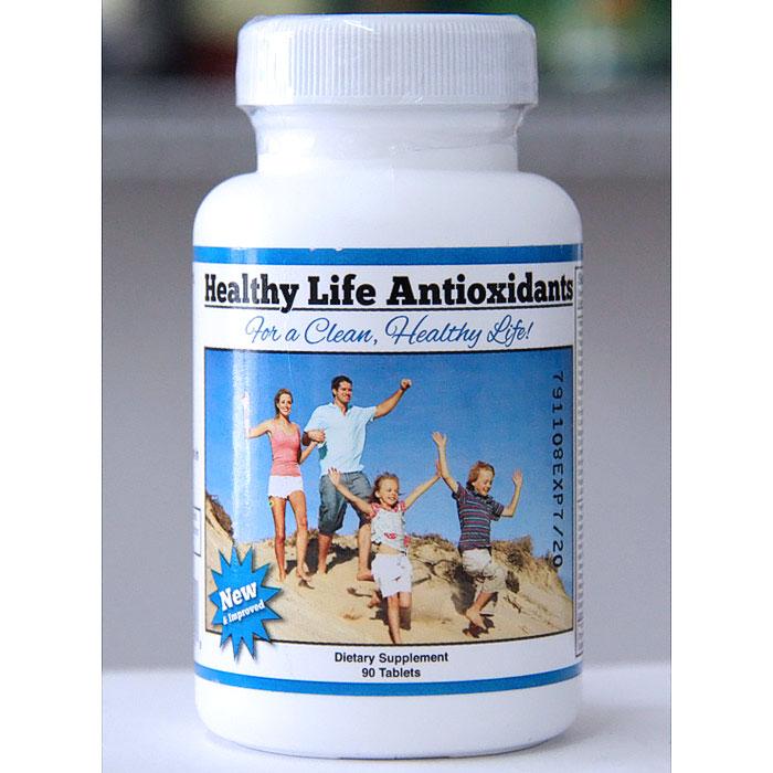 Healthy Life Antioxidants, 90 Tablets
