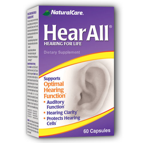 HearAll (Hear All) 60 caps from NaturalCare