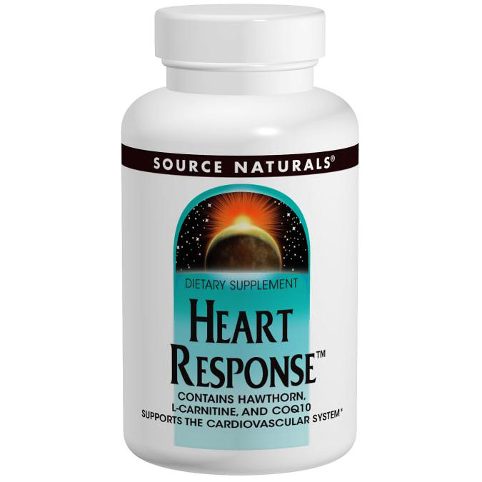 Heart Response 90 tabs from Source Naturals