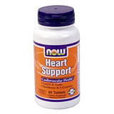 Heart Support, Dr. Balch Recommended, 60 Tabs, NOW Foods