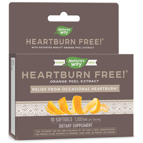 Heartburn Free with ROH10, 10 Softgels, Enzymatic Therapy
