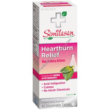 Heartburn Relief, 90 Chewable Tablets, Similasan