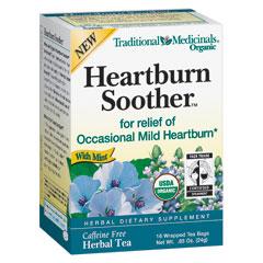 Heartburn Soother Tea, 16 Tea Bags, Traditional Medicinals Teas