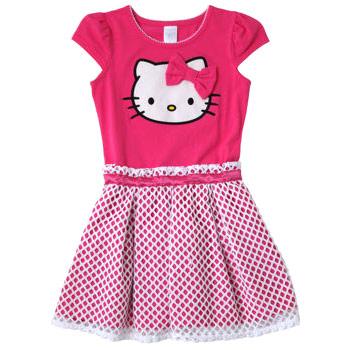 Image of Hello Kitty Girls' Dress, Pink