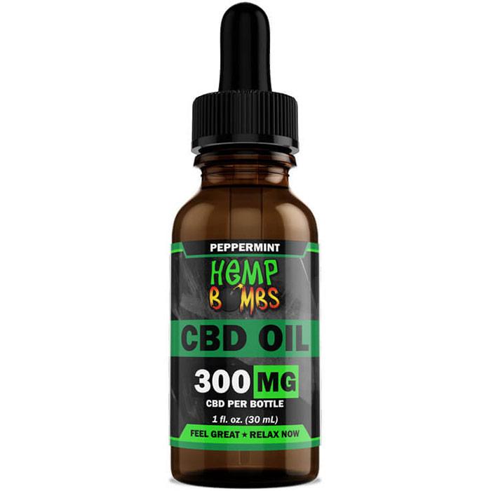 Hemp Bombs CBD Oil 300 mg, 1 oz