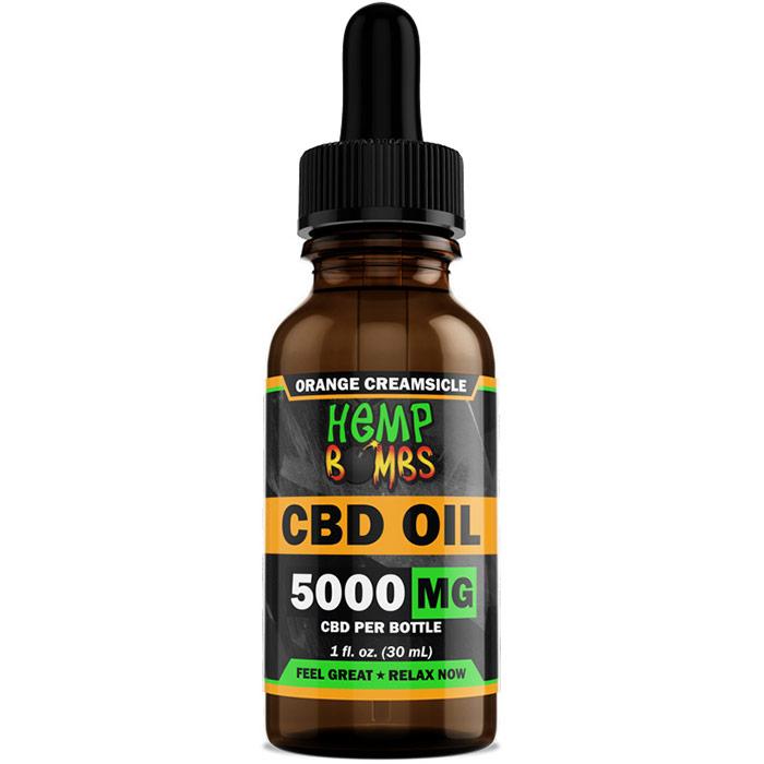 Hemp Bombs CBD Oil 4000 mg, 1 oz