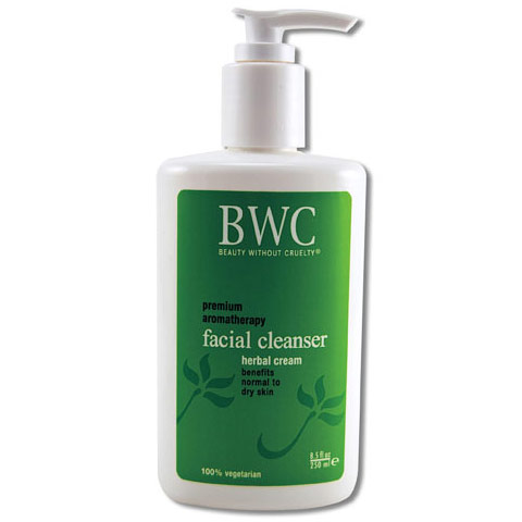 Herbal Cream Facial Cleanser, 8.5 oz, Beauty Without Cruelty