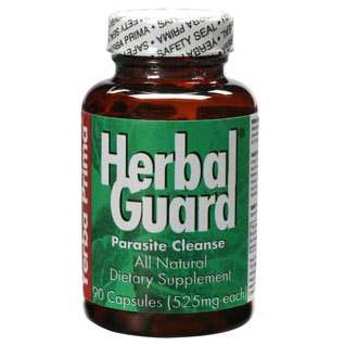 Herbal Guard (Herbal Cleansing), Parasite Purge 90 caps from Yerba Prima