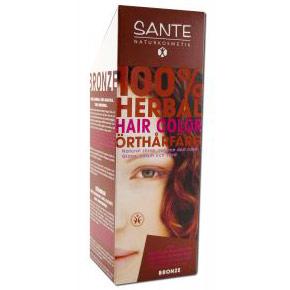 Herbal Hair Color, Bronze, 100 g, Sante Naturkosmetik