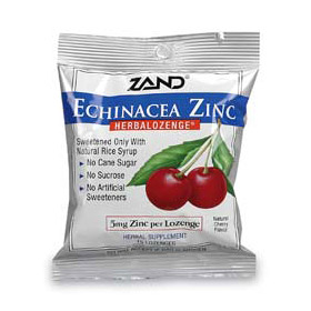 Herbal Lozenge Cherry Echinacea Zinc 15 lozenges, Zand