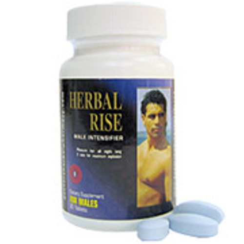 Herbal Rise, Male Intensifier, 30 Tablets, Herbal Groups