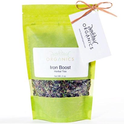 Dovetail Organics Loose Leaf Herbal Tea, Iron Boost, 2 oz, Natures Inventory