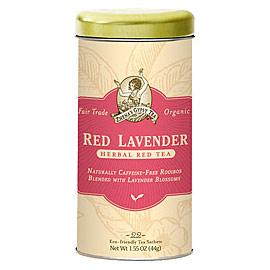 Organic Herbal Tea, Red Lavender, 6 x 22 Tea Bags/Case, Zhena's Gypsy Tea