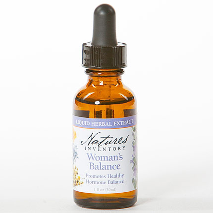 Herbal Tincture, Womans Balance, 1 oz, Natures Inventory