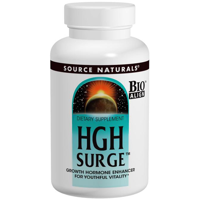 HGH Surge, For Youthful Vitality, 50 Tablets, Source Naturals