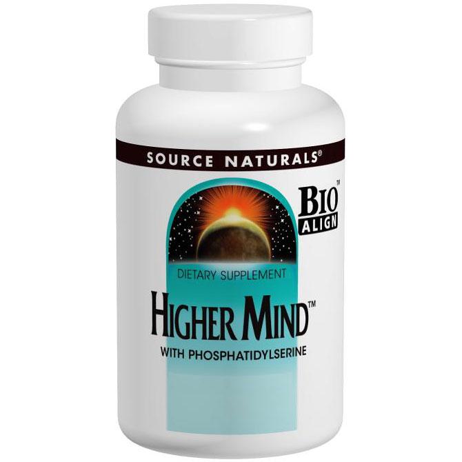 Higher Mind with Phosphatidyl Serine, 30 Tablets, Source Naturals