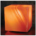Himalayan Salt Crystal Cube Lamp, Aloha Bay - CLICK HERE TO LEARN MORE