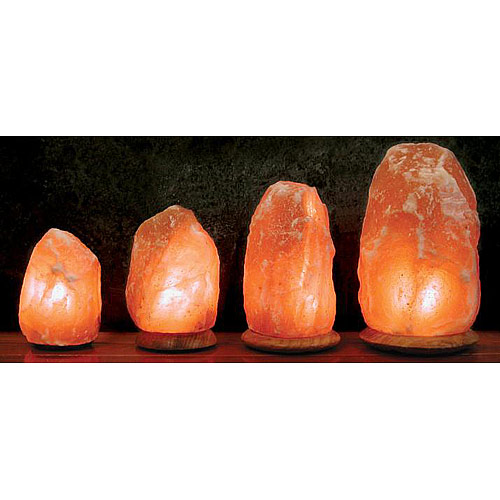 Himalayan Salt Crystal Lamp, 7-8 Inch, Aloha Bay - CLICK HERE TO LEARN MORE
