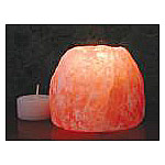 Himalayan Salt Tea Light Holder, Aloha Bay - CLICK HERE TO LEARN MORE