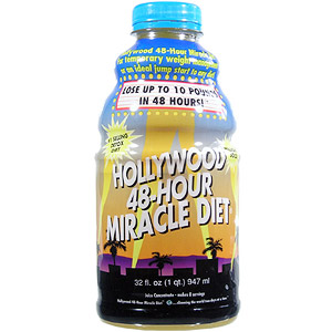 Hollywood 48-Hour Miracle Diet, 32 oz liquid, Hollywood Diet