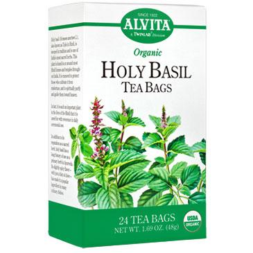Holy Basil Tea, 24 Tea Bags, Alvita Tea