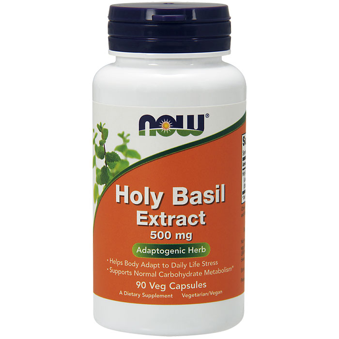 Holy Basil Extract, 90 Vcaps, NOW Foods