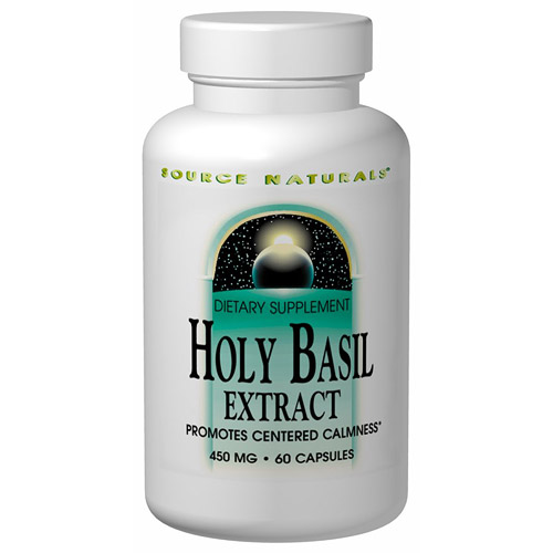 Holy Basil Extract 450mg 60 caps from Source Naturals
