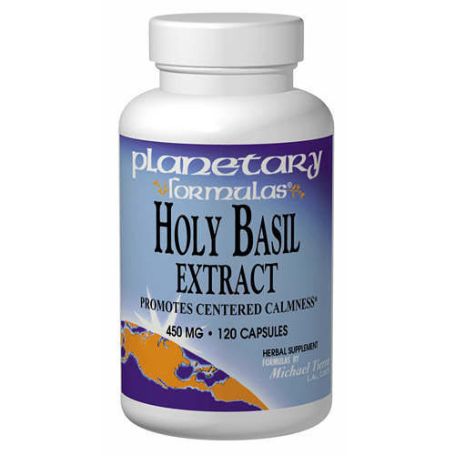 Holy Basil Extract 450mg 120 caps, Planetary Herbals