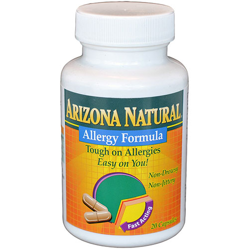 Homeopathic Allergy Medicine 20 caps from Arizona Natural