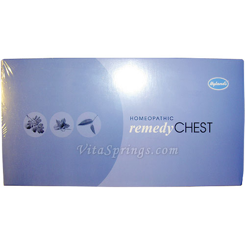 Image of Remedy Chest 30X, Homeopathic Household Kit 29 pc, Hylands (Hyland's)