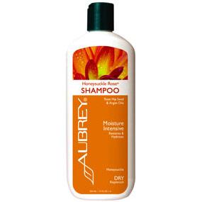 Honeysuckle Rose Shampoo, Dry Hair / Replenish, 11 oz, Aubrey Organics