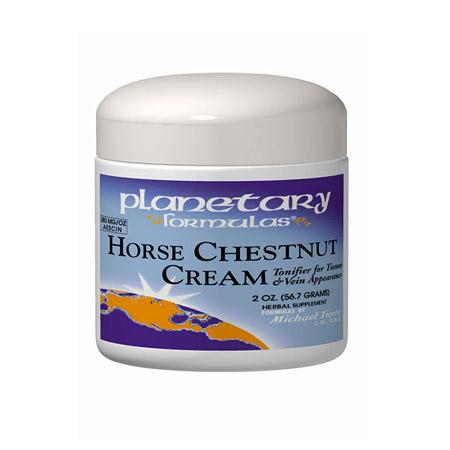 Horse Chestnut Cream 4 oz, Planetary Herbals