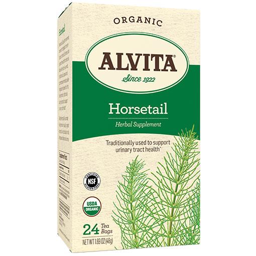 Organic Horsetail Tea, 24 Tea Bags, Alvita Tea