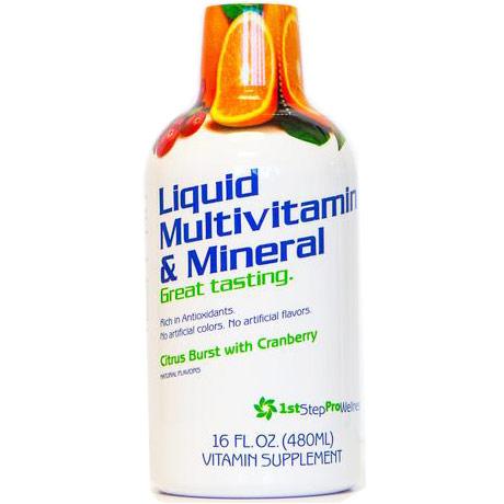 Liquid Multivitamin & Mineral, 16 oz, 1st Step Pro-Wellness