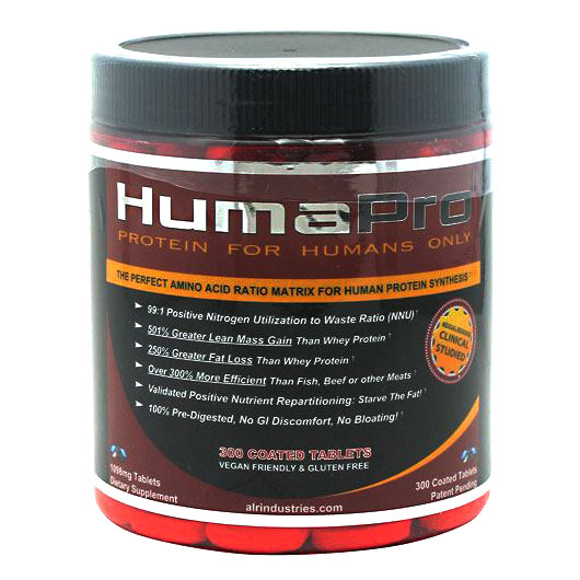 HumaPro Protein Tabs, 300 Tablets, ALR Industries