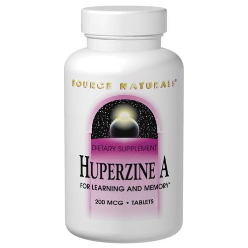 Huperzine A 100 mcg, 120 Tablets, Source Naturals