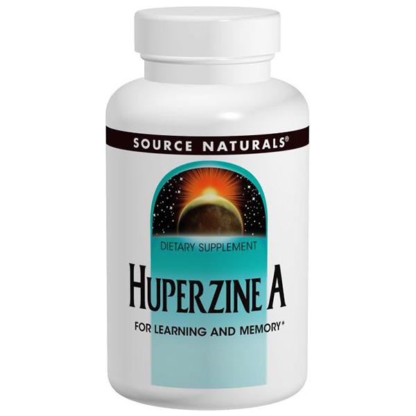Huperzine A 200 mcg, 120 tabs, from Source Naturals