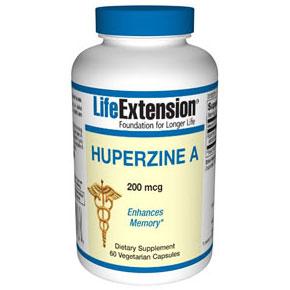 Huperzine A, 200 mcg, 60 Vegetarian Capsules, Life Extension