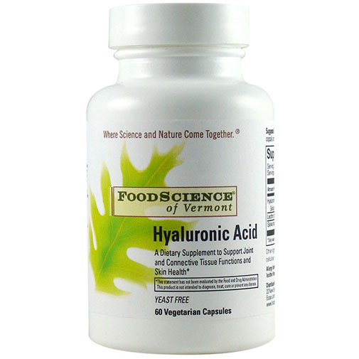 Hyaluronic Acid 60 caps, Foodscience Of Vermont