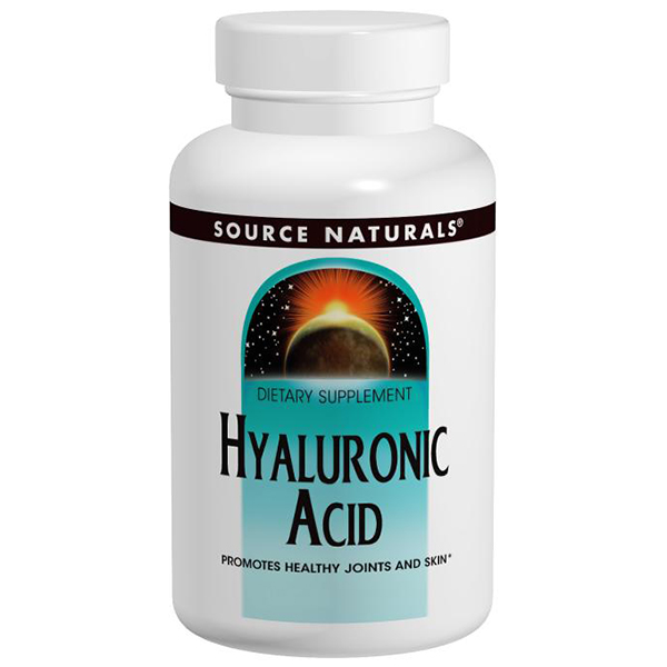 Buy Hyaluronic Acid 50 mg, 30 Capsules, Source Naturals