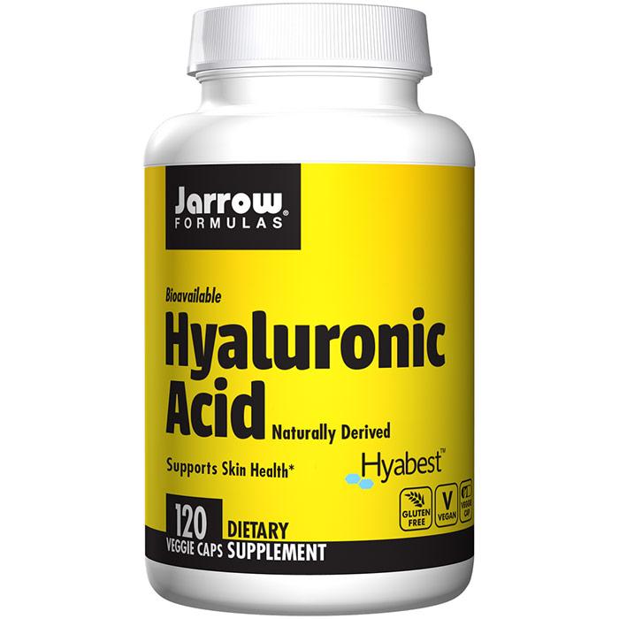 Hyaluronic Acid 50 mg, Bioavailable, 120 Capsules, Jarrow Formulas